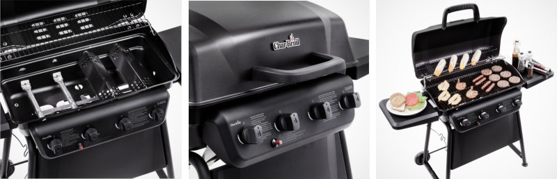 Char-Broil Classic Gas Grill Review - Best Grill Under 200