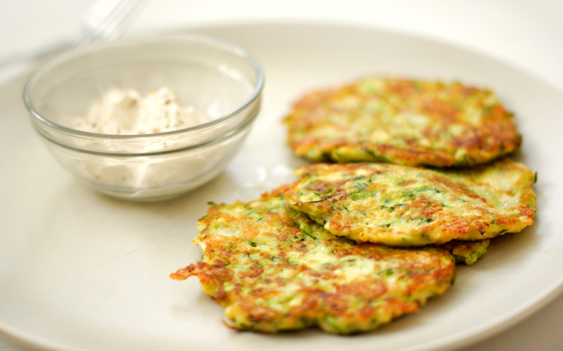 Delicious Zucchini Fritters - Easy Step-by-step Recipe
