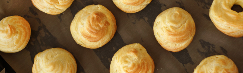 Perfect Choux Pastry - Basic Recipe for Cream Puffs and Profiteroles